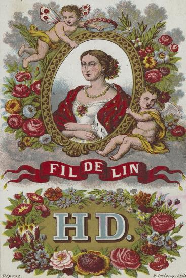 Label for Linen Thread--Giclee Print