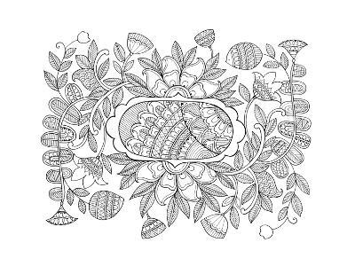 Label Pattern 2-Neeti Goswami-Art Print