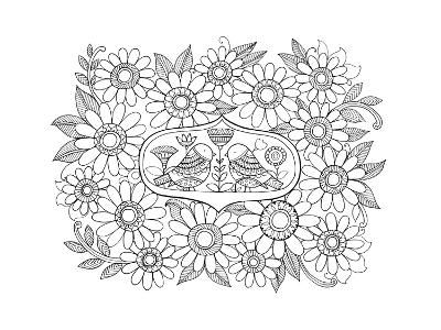 Label Pattern 3-Neeti Goswami-Art Print