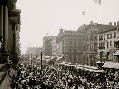Labor Day Crowd, Main St., Buffalo, N.Y.