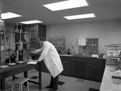 Laboratory Facility at Spillers Animal Foods, Gainsborough, Lincolnshire, 1960-Michael Walters-Photographic Print