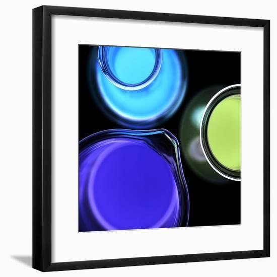 Laboratory Glassware-Kevin Curtis-Framed Premium Photographic Print