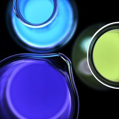 Laboratory Glassware-Kevin Curtis-Photographic Print