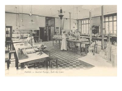 Laboratory, Pasteur Institute--Art Print