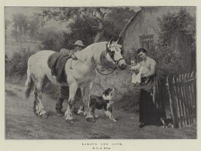 Labour and Love-George Augustus Holmes-Giclee Print