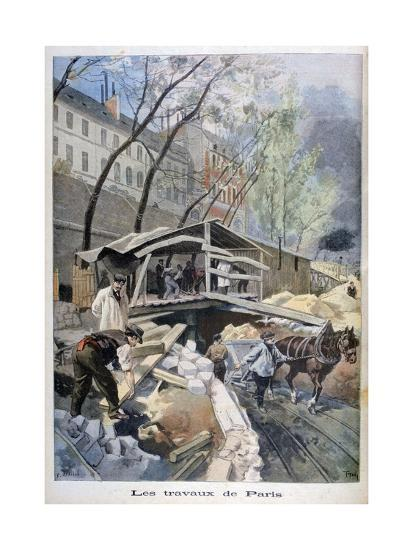 Labour in Paris, 1899-F Meaulle-Giclee Print