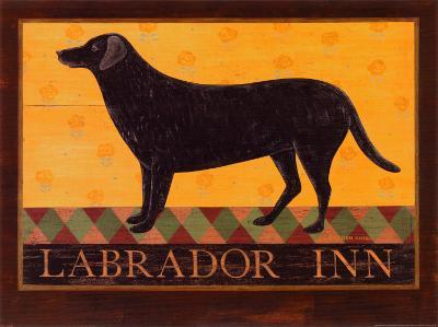 Labrador Inn-Warren Kimble-Art Print
