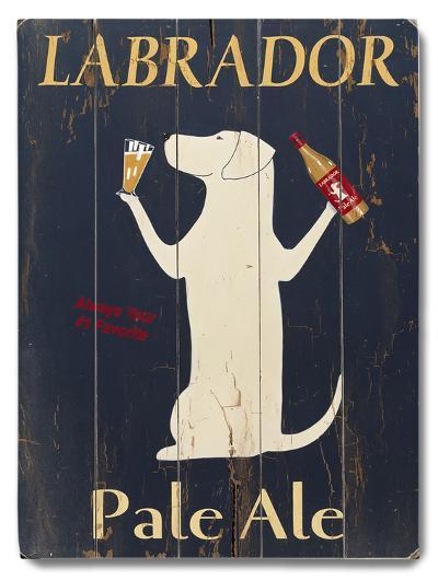 Labrador Pale Ale--Wood Sign