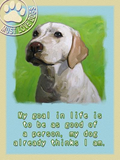 Labrador Retriever 1-Cathy Cute-Giclee Print