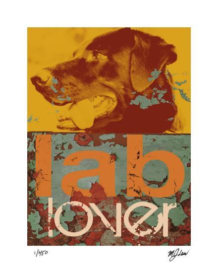 Labrador-Mj Lew-Giclee Print