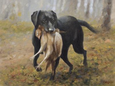 Labrador-John Silver-Giclee Print