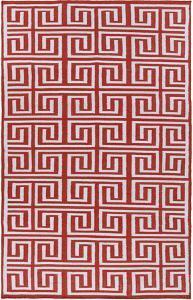 Labryith Area Rug  - Poppy/Ivory 5' x 8'