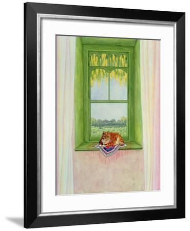 Laburnum Cat-Ditz-Framed Giclee Print