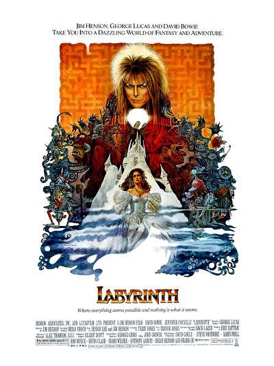 Labyrinth, David Bowie, Jennifer Connelly, 1986--Photo
