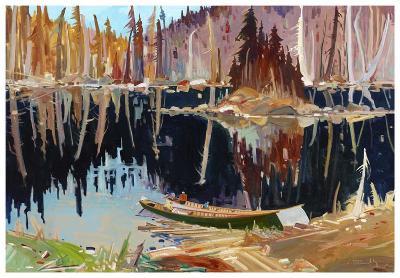 Lac Allard-Louis Tremblay-Art Print