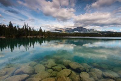 Lac Beauvert, Lac Beaufort, Canadian Rocky Mountains-Sonja Jordan-Photographic Print