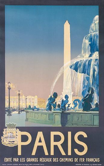 Lacaze Paris--Art Print