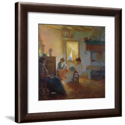 Lace, 1910-Umberto Moggioli-Framed Giclee Print
