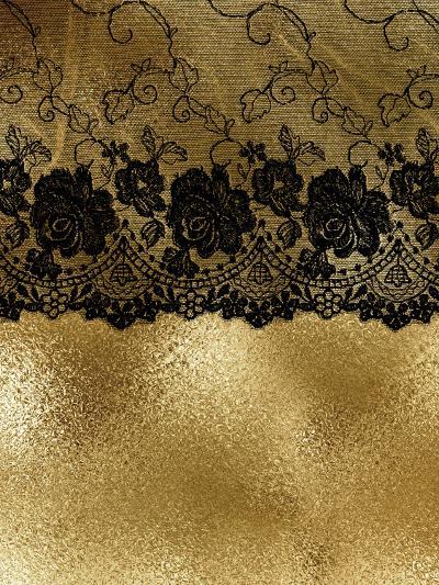 Lace Black Boheme-Grab My Art-Art Print