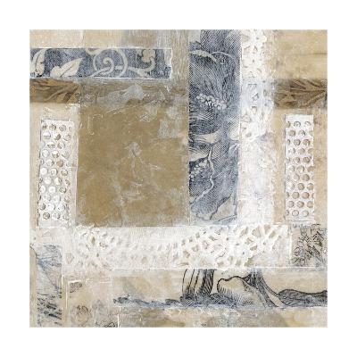 Lace Collage II-Jennifer Goldberger-Art Print