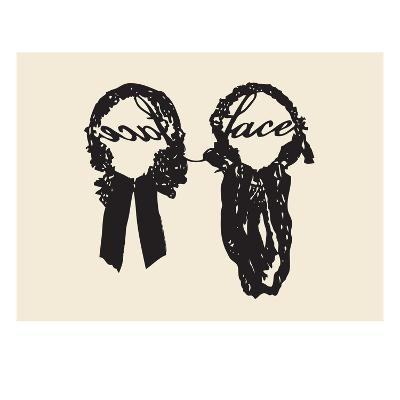 Lace Face-Molly Bosley-Giclee Print