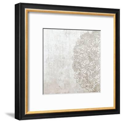 Lace Fresco I-Mali Nave-Framed Art Print