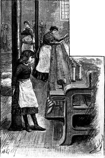 Lace Making, 1884--Giclee Print