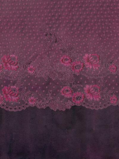 Lace Purple Boheme Elegance-Grab My Art-Art Print