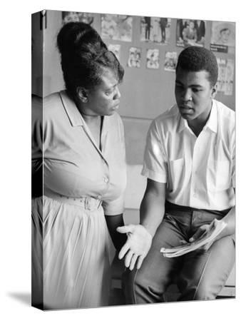 Muhammad Ali and Fannie Lou Hammer