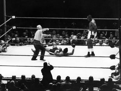 Sonny Liston and Floyd Patterson - 1962