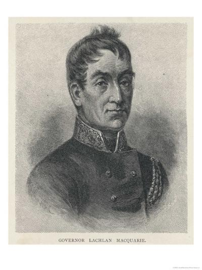Lachlan Macquarie British Soldier and Colonial Administrator-G. Kruell-Giclee Print