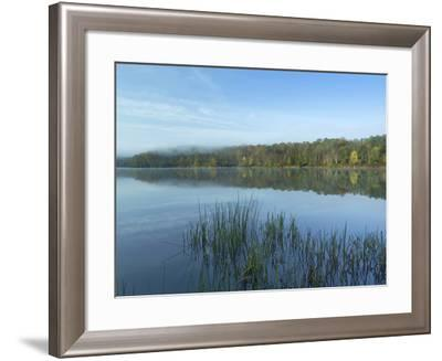 Lackawanna Lake at Bullhead Bay, Lackawanna State Park, Pennsylvania, Usa-Tim Fitzharris-Framed Photographic Print