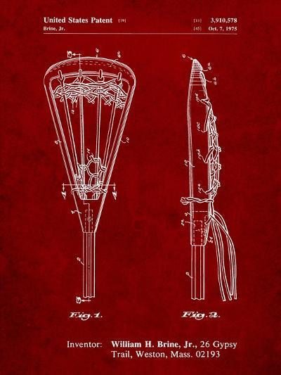 Lacrosse Stick 1936 Patent-Cole Borders-Art Print