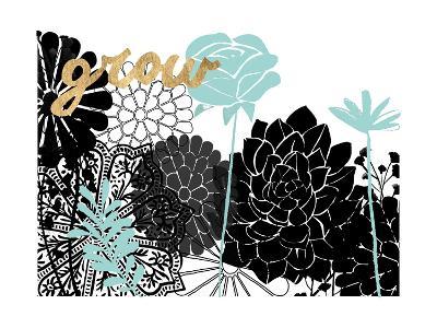 Lacy Garden I-Studio W-Art Print