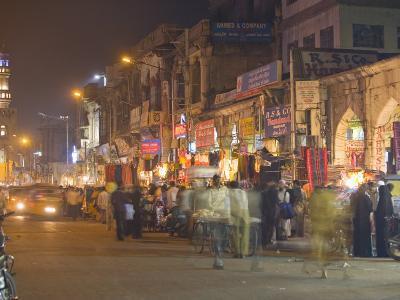 Lad Bazaar, Hyderabad, Andhra Pradesh State, India-Marco Cristofori-Photographic Print