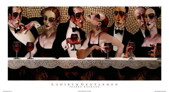 Ladies and Gentlemen-Juarez Machado-Art Print