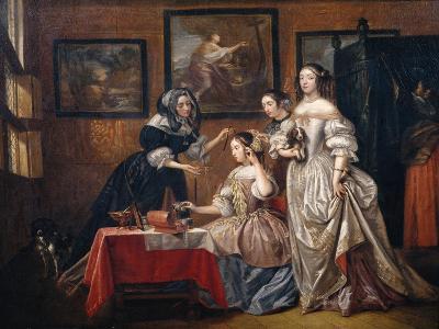 Ladies and maids-Lancelot Volders-Giclee Print