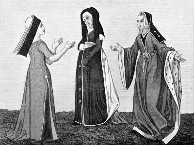 Ladies' Costume, Early 16th Century--Giclee Print