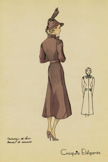 Ladies Fashion I--Art Print