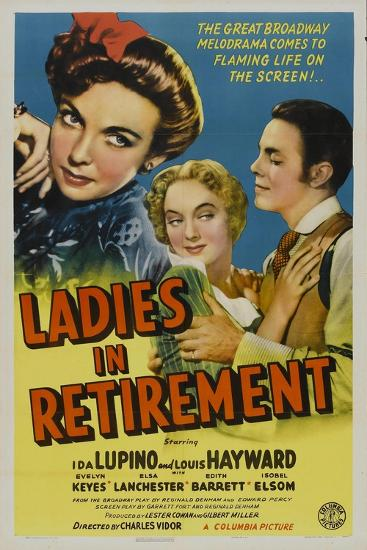 Ladies In Retirement, 1941, Directed by Charles Vidor--Giclee Print