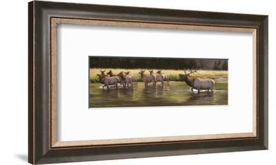 Ladies Man-Bonnie Marris-Framed Art Print