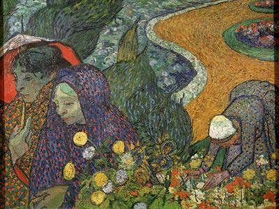 Ladies of Arles (Memory of the Garden at Ette), 1888-Vincent van Gogh-Giclee Print