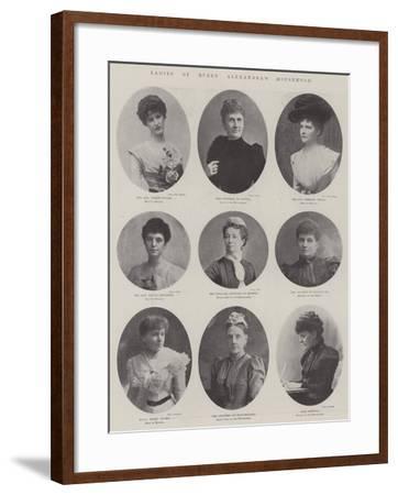 Ladies of Queen Alexandra's Household--Framed Giclee Print