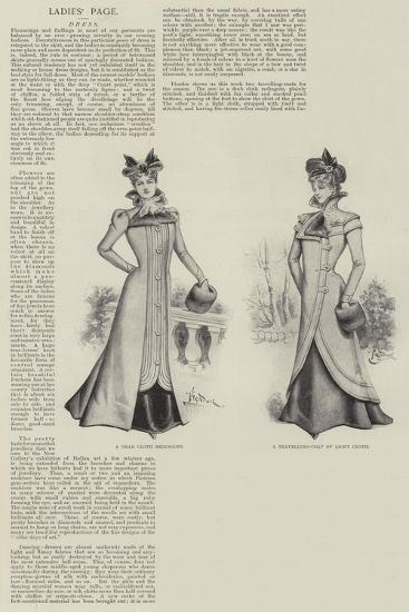 Ladies' Page--Giclee Print