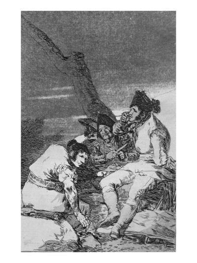 Lads Making Ready, Plate 11 of 'Los caprichos', pub. 1799-Francisco de Goya-Giclee Print