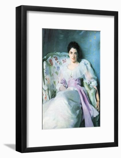 Lady Agnew-John Singer Sargent-Framed Art Print