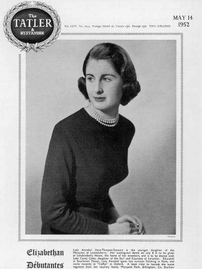 Lady Annabel Vane-Tempest-Stewart--Photographic Print