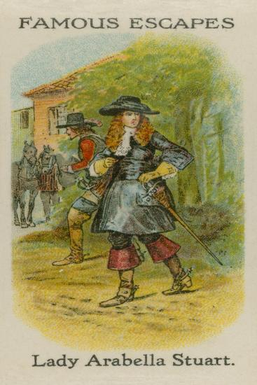 Lady Arabella Stuart--Giclee Print