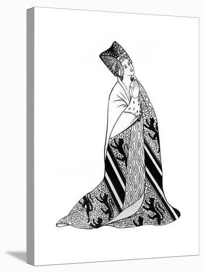 Lady Arderne, Wife of Sir Peter Arderne, Judge and Chief Baron of the Exchequer--Stretched Canvas Print