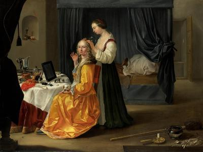 Lady at Her Toilet, C.1650-60--Giclee Print